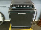 ACOUSTIC B300H 300W BASS AMP HEAD AND 450W 1X15 BASS CABINET WITH POWER CORD